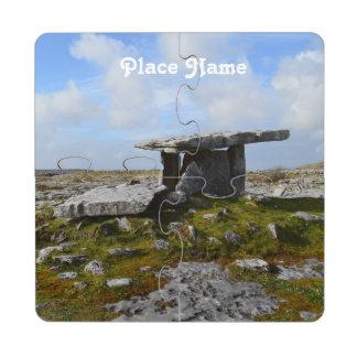 Poulnabrone Portal Tomb Puzzle Coaster