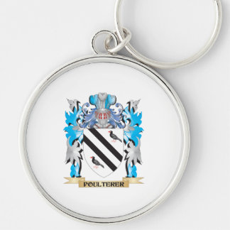Poulterer Coat of Arms - Family Crest Key Chain