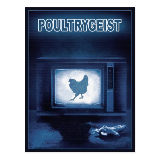 POULTRYGEIST POSTCARD