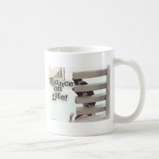 Pounce on Life! Basic White Mug
