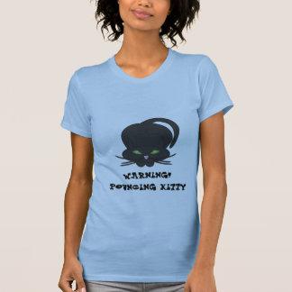 Pouncing Kitty Shirts