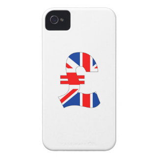 pound currency symbol money united kingdom flag iPhone 4 cases