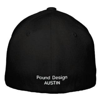 Pound Flex Embroidered Baseball Caps