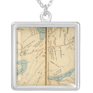 Poundridge, New York 2 Silver Plated Necklace