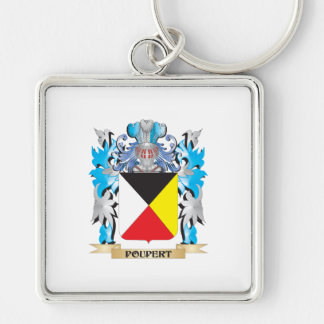 Poupert Coat of Arms - Family Crest Keychain