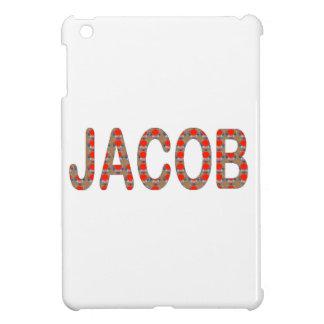 Pour JACOB Name  artist NavinJOSHI artistique GIFT iPad Mini Cases