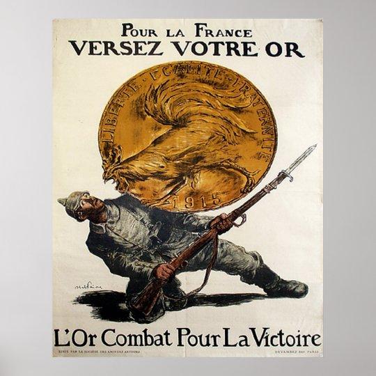 Pour La France Poster