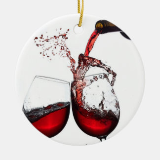**POUR THAT WINE** CHRISTMAS ORNAMENT