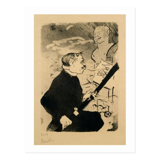 'Pour Toi!' from The Old Stories, a Society Repert Postcard