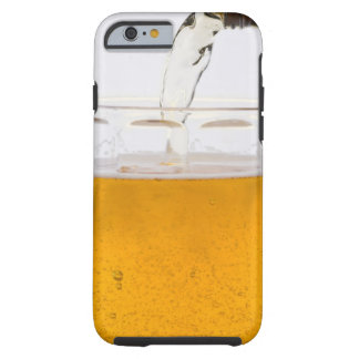 Pouring beer in glass mug, Extreme, Close-up Tough iPhone 6 Case