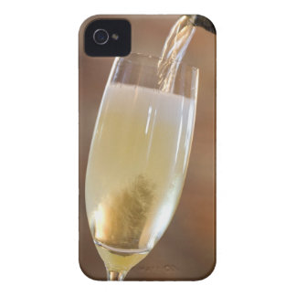 Pouring champagne iPhone 4 cover