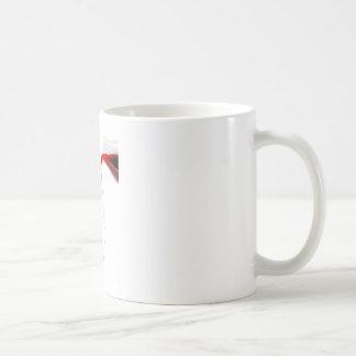 Pouring wine. basic white mug