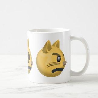 Pouting Cat Face Emoji Coffee Mug