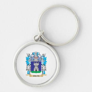 Pouts Coat of Arms - Family Crest Keychains
