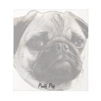 Pouty Pug Notepad