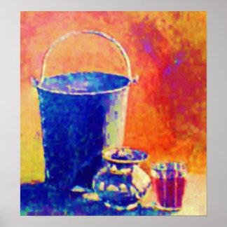 POVERTY of Water - Abundance of BOOZE Poster