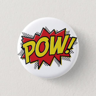 POW! 3 CM ROUND BADGE