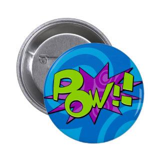 Pow Comic Book Badge