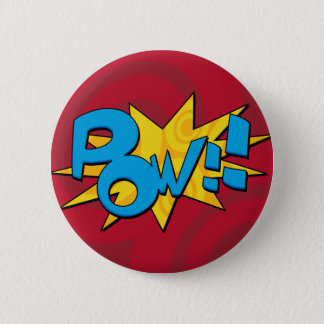 Pow Comic Book Badge