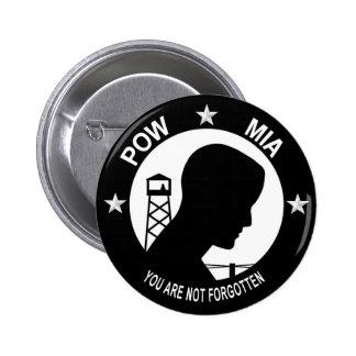 POW MIA Button