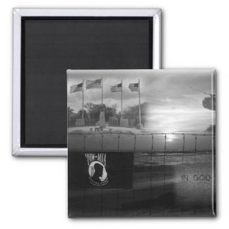 POW MIA Commemorative Magnet