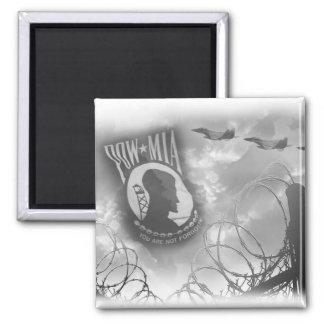 POW MIA Commemorative Magnet