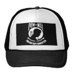 POW-MIA Flag Trucker Hats