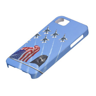 POW MIA Flag with Old Glory & The Thunderbirds Case For The iPhone 5