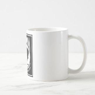 POW/MIA Logo - Rectangle Basic White Mug