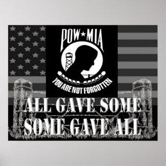 POW/MIA Poster