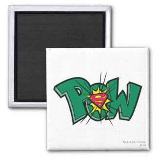 Pow Square Magnet