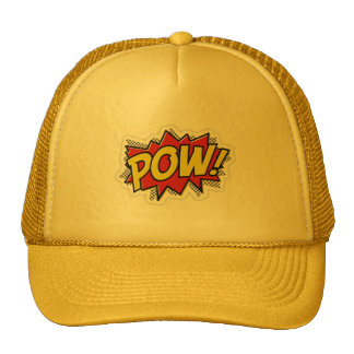Pow ! trucker cap