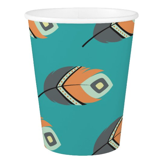 POW WOW TRIBAL PARTY CUPS