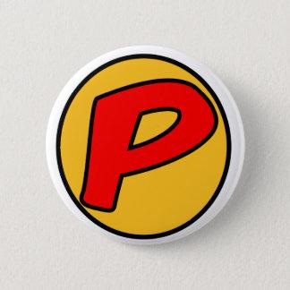 PowBack 6 Cm Round Badge