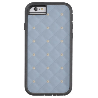 Powder Blue Pearl Stud Quilted Tough Xtreme iPhone 6 Case