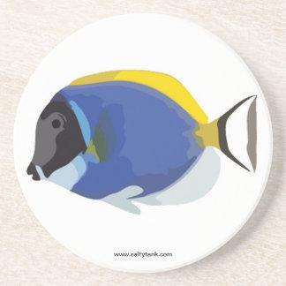 Powder Blue Tang Fish Coaster