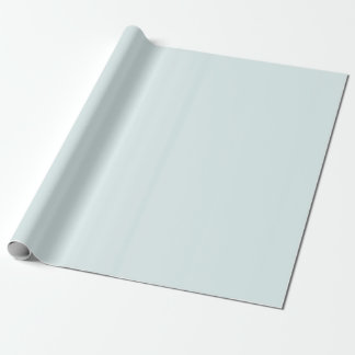 Powder Blue Wrapping Paper