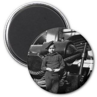 Powder Monkey USS New Hampshire 1865 6 Cm Round Magnet