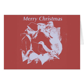Powdered sugar Christmas Card