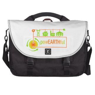 powEARTHful messenger laptop bag