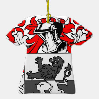 Powell Coat of Arms Ornaments
