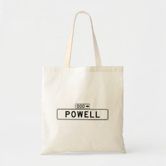Powell St., San Francisco Street Sign Tote Bag