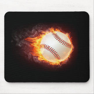 Power Baseball Mouse Mat