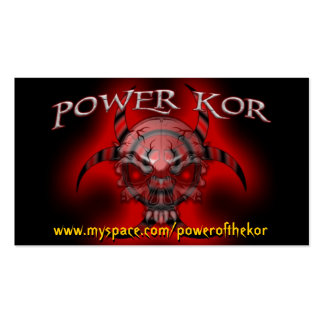 POWER BB CARDS PACK OF STANDARD BUSINESS CARDS