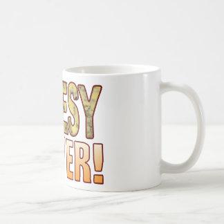 Power Blue Cheesy Coffee Mug