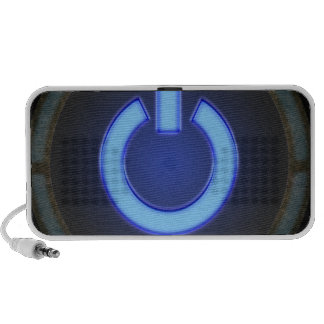 power-blue png iPod speakers