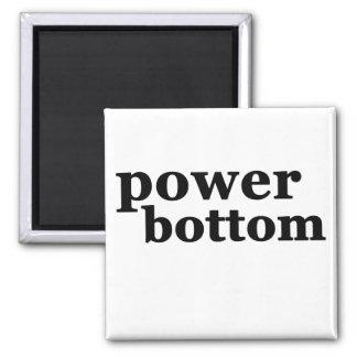 Power Bottom Square Magnet