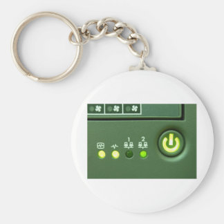 power button and indicator lights key chains