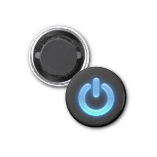 Power Button (Blue) Magnet