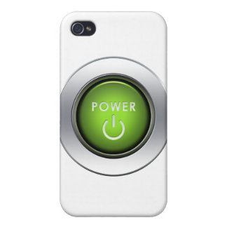 Power Button iPhone 4 Case